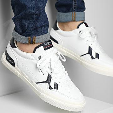 Pepe Jeans - Baskets Kenton Britt PMS30763 White