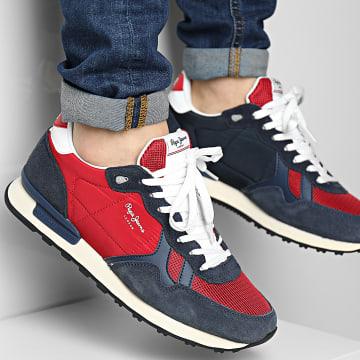 Pepe Jeans - Baskets Britt Man Reverse PMS30753 Red