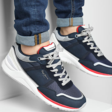 Pepe Jeans - Baskets X20 Basic Half PMS30782 Navy