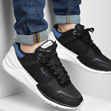 Pepe Jeans - Baskets X20 Basic Half PMS30782 Black