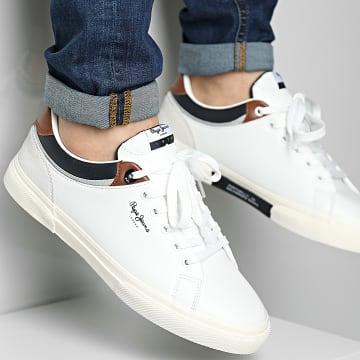 Pepe Jeans - Baskets Kenton Class PMS30764 White