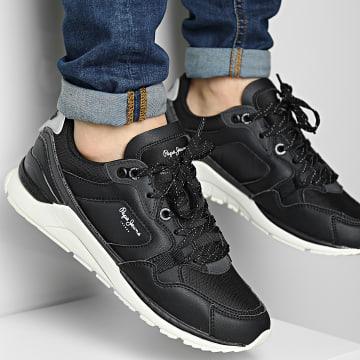 Pepe Jeans - Baskets X20 Basic BW PMS30781 Black