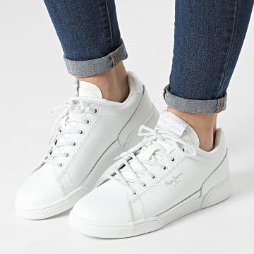Pepe Jeans - Baskets Femme Lambert Chic PLS31247 White