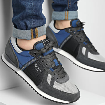 Pepe Jeans - Baskets Tinker Zero Tape PMS30772 Anthracite