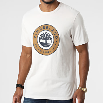 Timberland - Tee Shirt Tree Logo Bouncle A2CKE Beige