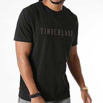 Timberland - Tee Shirt Block Branded A2G4D Noir