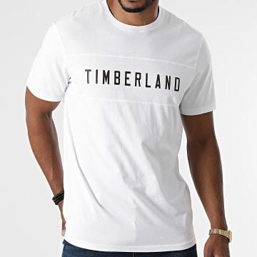 Timberland - Tee Shirt Block Branded A2G4D Blanc