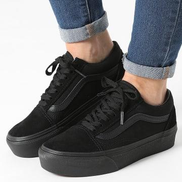 Vans - Baskets Femme Old Skool Platform 3B3UBKA Black Black