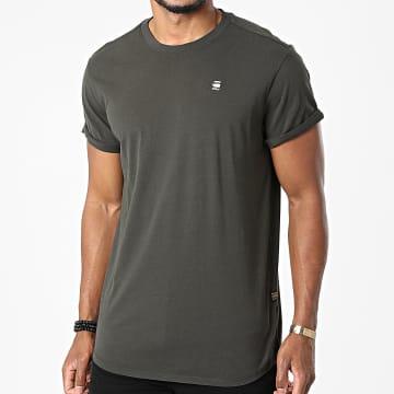 G-Star - Tee Shirt Oversize Lash D16396-B353 Gris Anthracite