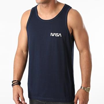 NASA - Débardeur Simple Chest Bleu Marine