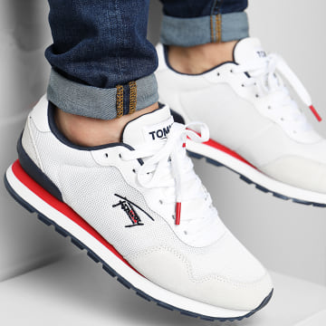 Tommy Jeans - Baskets Lifestyle Mix Runner 0722 White