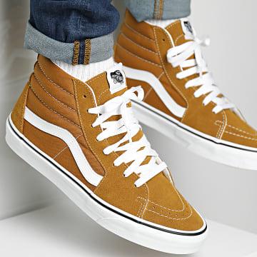 Vans - Baskets Sk8-Hi 32QG9GE Golden Brown True White