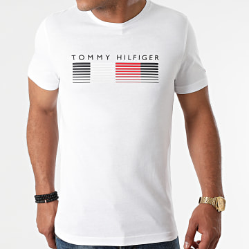 Tommy Hilfiger - Tee Shirt Fade Graphic Corp 1008 Blanc