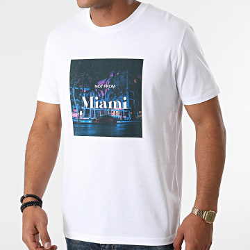 Luxury Lovers - Tee Shirt Not From Miami Blanc