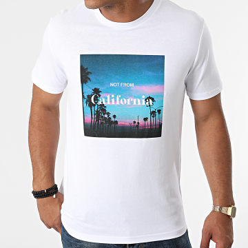 Luxury Lovers - Tee Shirt Not From California Road Blanc