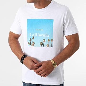 Luxury Lovers - Tee Shirt Not From California Blanc