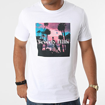Luxury Lovers - Tee Shirt Not From Beverly Hills Blanc