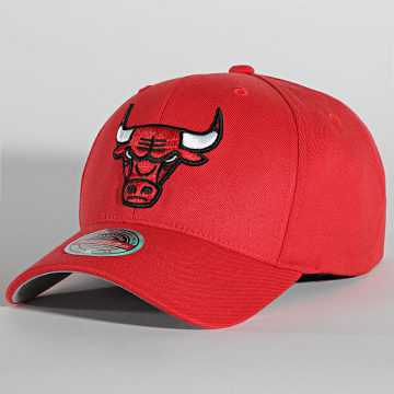 Mitchell and Ness - Casquette Team Ground Redline Chicago Bulls Rouge