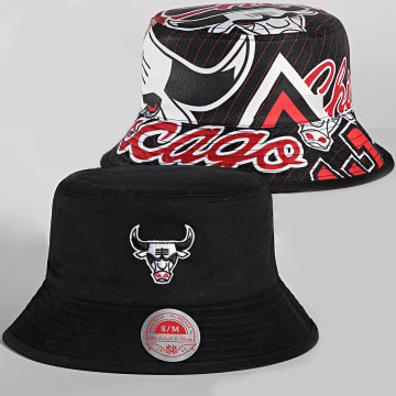 Mitchell and Ness - Bob Réversible Neo Cycle Chicago Bulls Noir