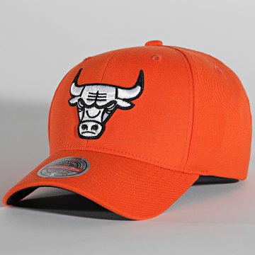 Mitchell and Ness - Casquette Vis Redline Chicago Bulls Orange