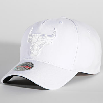 Mitchell and Ness - Casquette NBA Whiteout Redline Chicago Bulls Blanc