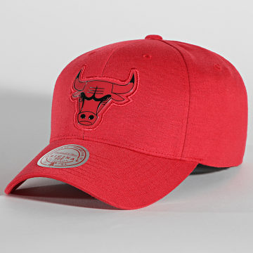 Mitchell and Ness - Casquette Prime Low Pro Chicago Bulls Rouge