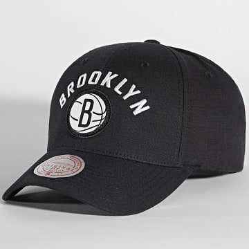 Mitchell and Ness - Casquette Arc Low Pro Brooklyn Nets Noir