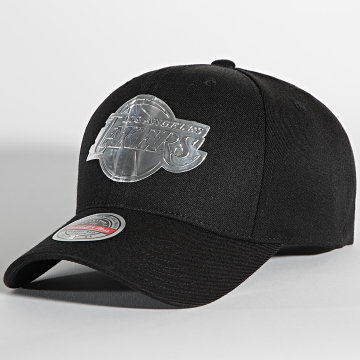 Mitchell and Ness - Casquette Cyber Redline Los Angeles Lakers Noir