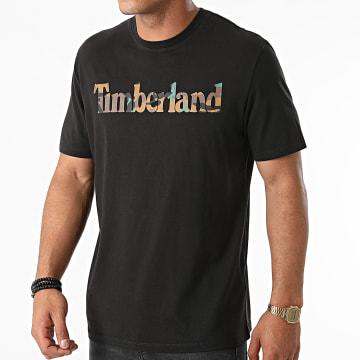 Timberland - Tee Shirt Camo Linear A231G Noir