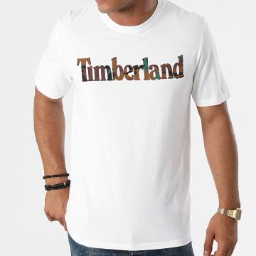 Timberland - Tee Shirt Camo Linear A231G Ecru