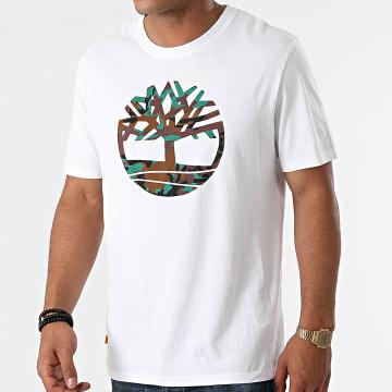 Timberland - Tee Shirt Camo Tree A231R Ecru
