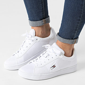Tommy Jeans - Baskets Femme Knitted Cupsole 1497 White