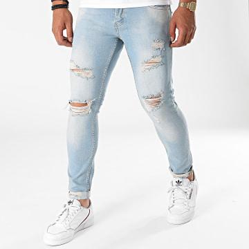 2Y Premium - Jean Skinny 6179 Bleu Denim
