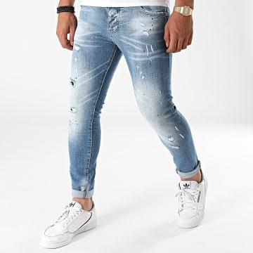 2Y Premium - Jean Skinny 6147 Bleu Denim