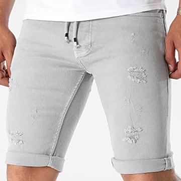Classic Series - Short Jean 1021 Gris