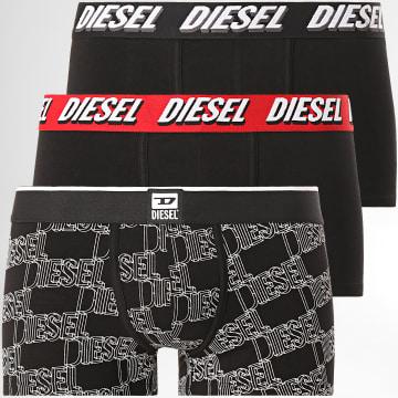 Diesel - Lot De 3 Boxers Damien 00ST3V-0KCAS Noir
