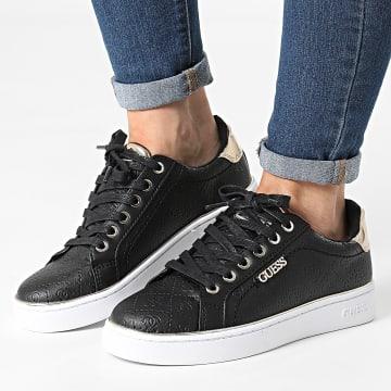 Guess - Baskets Femme FL5BEKFAL12 Black Black