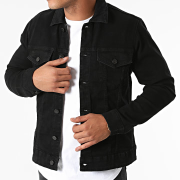 Only And Sons - Veste Jean Come Life Noir