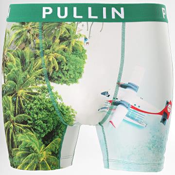 Pullin - Boxer Air Pullin Vert Bleu Clair