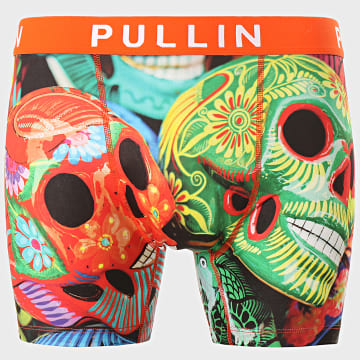 Pullin - Boxer Calaveras Orange