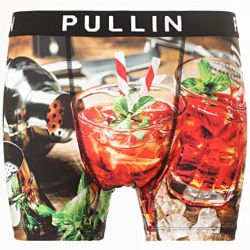 Pullin - Boxer Fraisito Noir