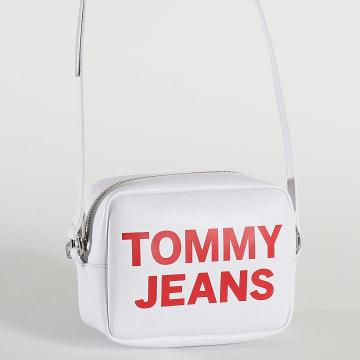 Tommy Jeans - Sac A Main Femme Essential Camera Bag 0152 Blanc