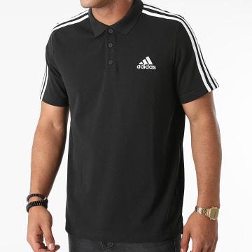 Adidas Performance - Polo Manches Courtes A Bandes GK9097 Noir