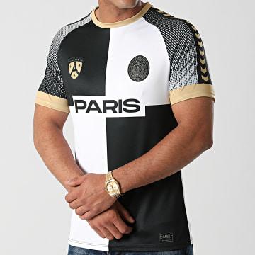 Foot - Tee Shirt De Sport Paris Noir Blanc