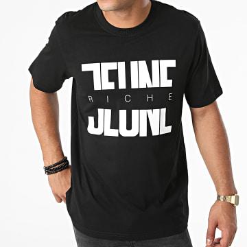Jeune Riche - Tee Shirt Divided Noir Blanc