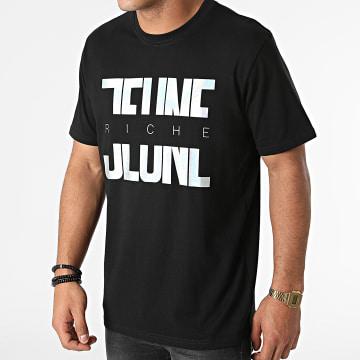 Jeune Riche - Tee Shirt Iridescent Divided Noir