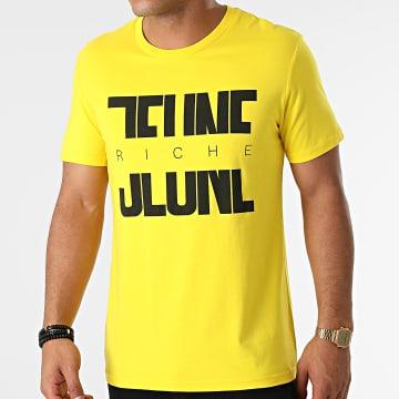 Jeune Riche - Tee Shirt Divided Jaune Noir