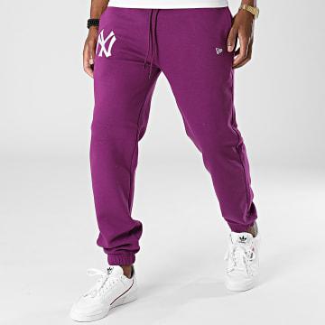 New Era - Pantalon Jogging Embroidery Logo New York Yankees 12879437 Violet