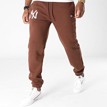 New Era - Pantalon Jogging Embroidery Logo New York Yankees 12879438 Marron