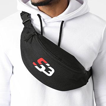 S3 Freestyle - Sacoche Banane Logo Noir Blanc